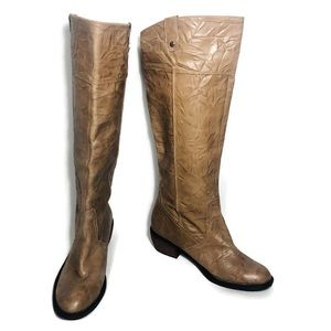 Gianni Bini Two Stepper Tall Leather Boots